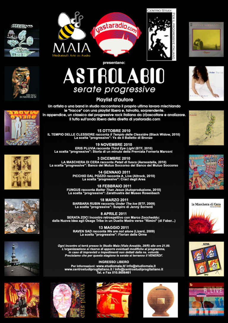 10/10 Astrolabio - Serate Progressive / Playlist d'autore 2010