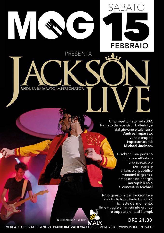 02/20 Jackson Live al MOG