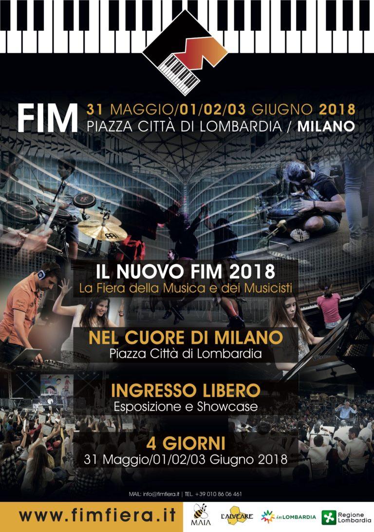 05/18 6° FIM® Fiera Internazionale della Musica - Educational Edition - 2018 Milano