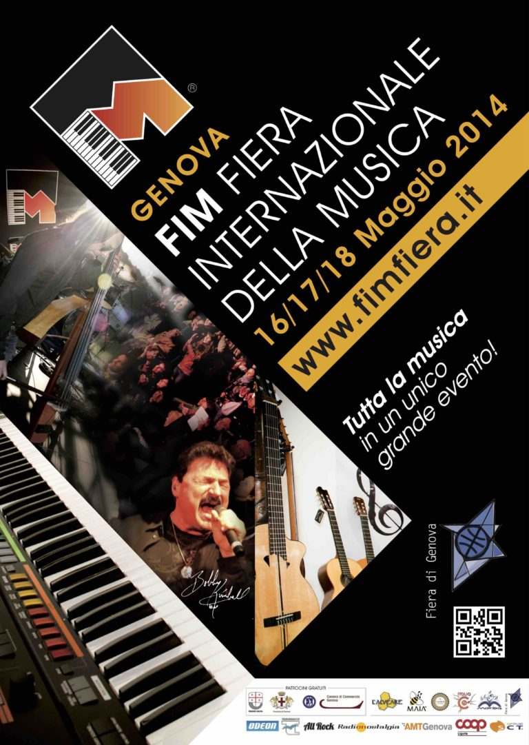 05/14 2° FIM® Fiera Internazionale della Musica - 2014 Genova