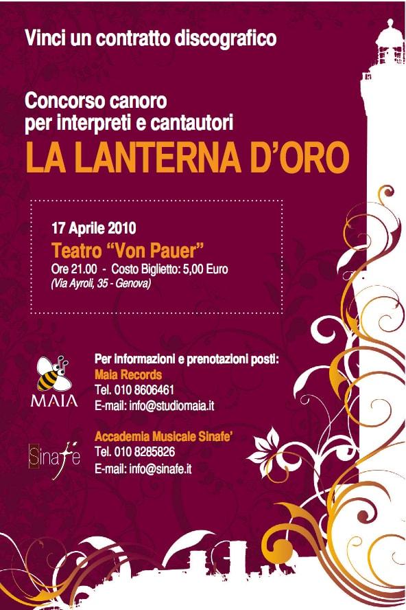 04/10 La Lanterna D'oro - Finale 2010