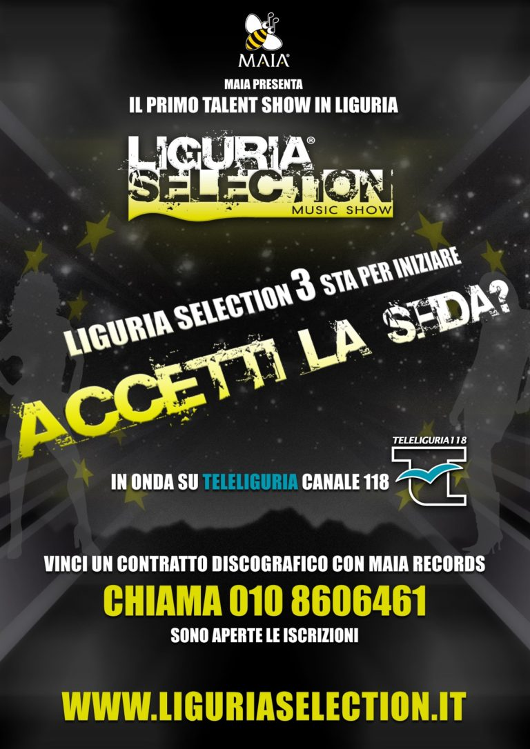 01/13 Liguria Selection 3 Music Show (2013)