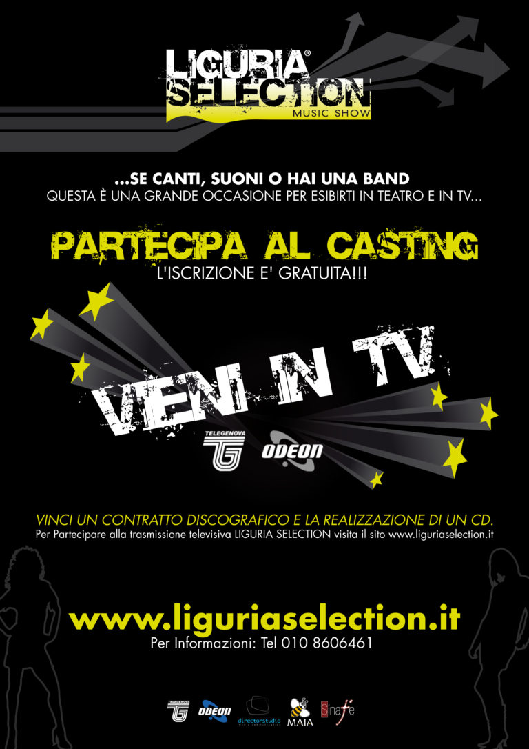 10/10 Liguria Selection Music Show - Prima Edizione (2010-2011)