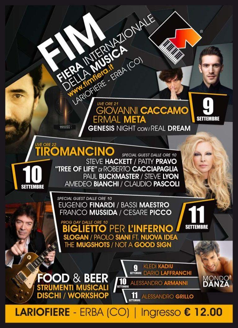 09/16 4° FIM® Fiera Internazionale della Musica - 2016 Erba (CO)