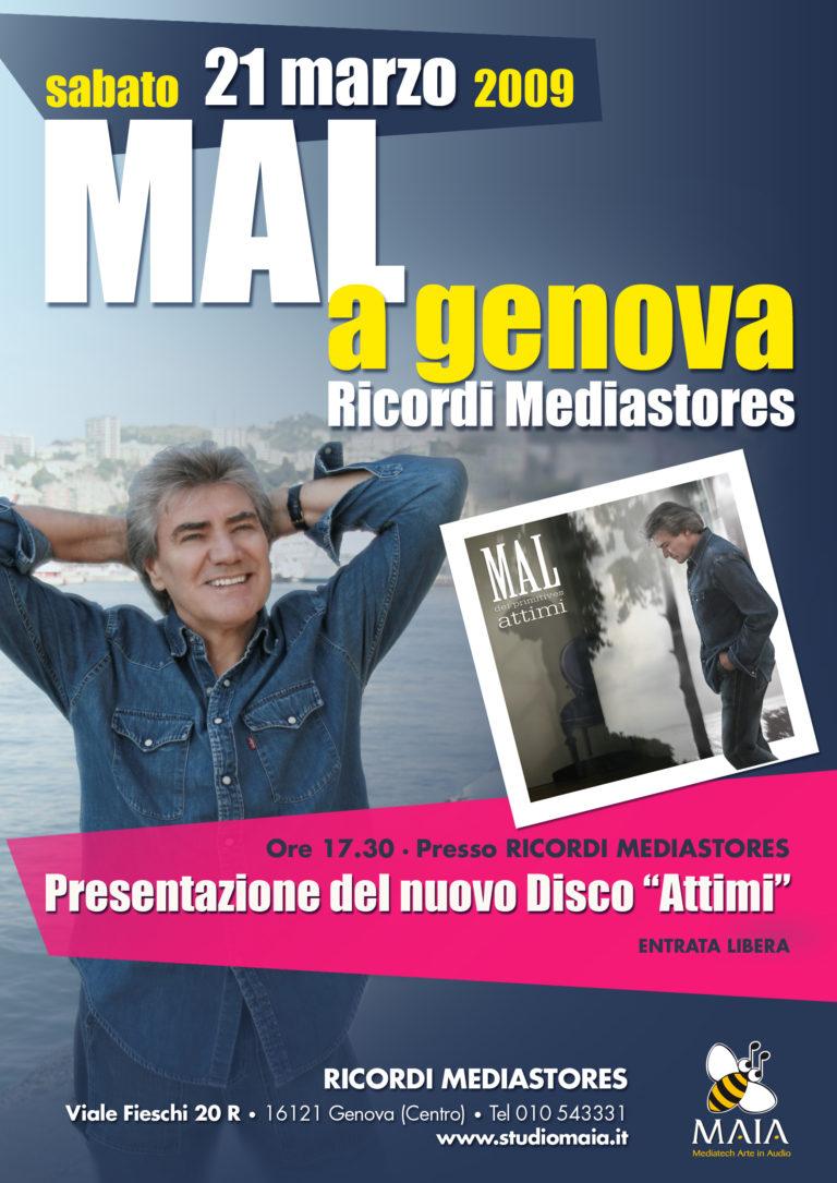 """03/09 Mal - """"Attimi"""" Presentazione Ufficiale 2009"""