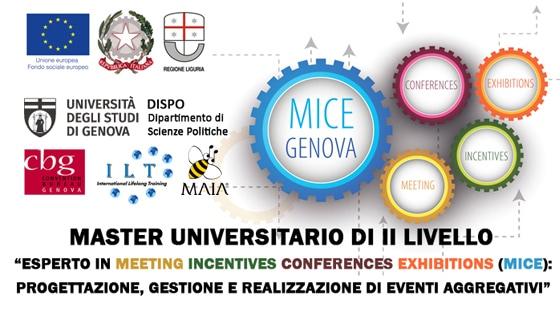 01/19 Master Meeting Incentives Conferences Exhibitions (MICE): Progettazione, Gestione e Realizzazione di Eventi Aggregativi