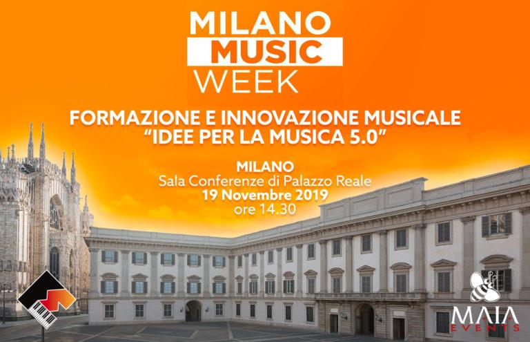 11/19 MMW 2019 - Formazione e Innovazione Musicale: Idee per la musica 5.0 - Tecnologia per l'evoluzione musicale