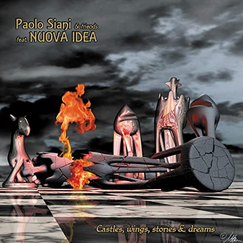 "09/10 Paolo Siani & Friends Feat.Nuova Idea ‎""Castles, Wings, Stories"" 2010"